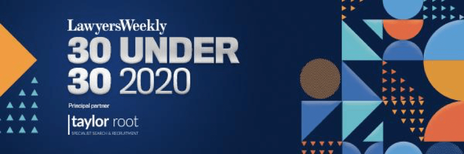 30 Under 30 Dispute Resolution and Litigation – Lawyers Weekly